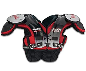 Riddell EVX 18Y Youth Football Shoulder Pads - Skilled Positions - XXS
