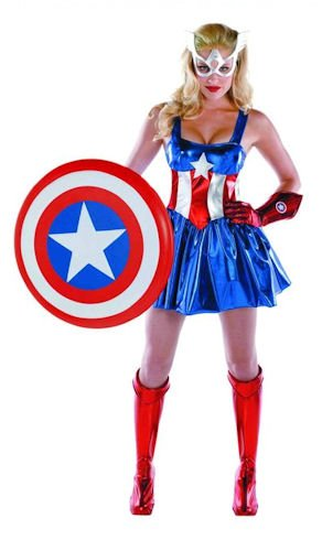 All New Disguise Sassy Superhero American Dream Boot Covers