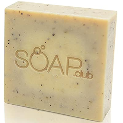 Moisturizing Handmade Natural Soap By Soap Club - Perfect for All Skin Types - 5.3 Oz - 1 Pack