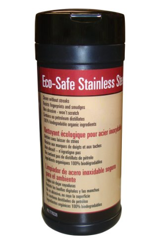 Char-Broil 3919846 Eco-Safe Stainless-Steel Cleaning Wipes