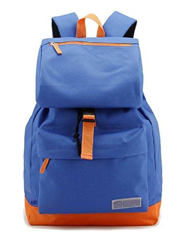 Saierlong Women'S And Girl'S Backpack School Bag Travel Bag Light Blue Nylon front-661465