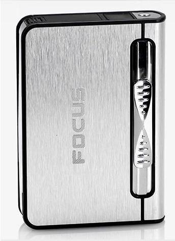 dispenser-cigarette-focus-con-torcia-butano-getto-piu-leggero-contiene-10-silver