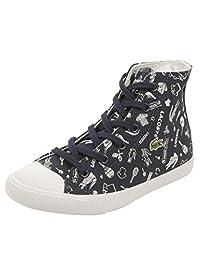 Lacoste Toddler L27 Mid DDL Sneakers in Dark Blue