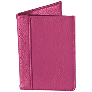 Travel Smart RFID Passport Wallet - Raspberry