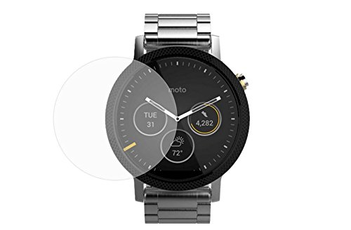 Prosper-Round-edge-25-D-Tempered-glass-for-Moto-360-2nd-Gen-Smartwatch-46mmPack-Of-2