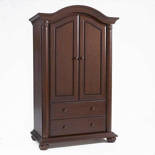 Baby Cache Heritage Armoire, Cherry front-314213