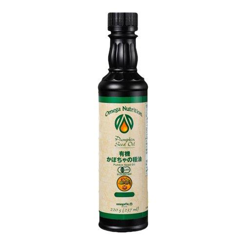オメガニュートリション 有機 かぼちゃの種子油(パンプキンシードオイル) 237ml