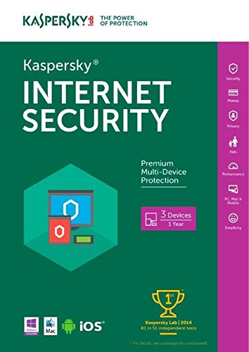 Kaspersky Lab Internet Security 2016 (3-Users) (Include 2014 Award) (Kaspersky Internet Protection compare prices)