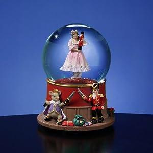 Clara and the Nutcracker Duel Water Globe