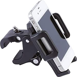 Diamond PlateTM Adjustable Motorcycle/Bicycle Phone Mount