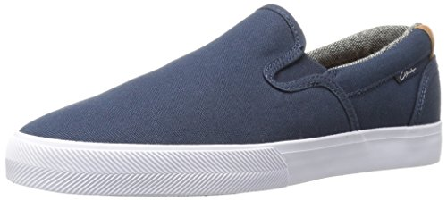 C1RCA Men's Corpus Skateboarding Shoe, Navy/Brown, 12 M US