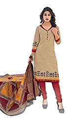 Gugaliya Women's Unstiched Superior Cotton FASHION SALWAR,KAMEEZ & DUPATTA Suit ( P531 )
