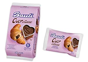 Bauli Chocolate Croissants 1.8 oz. (Pack of 6) by Bauli