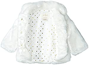 kate spade york Faux Fur Jacket (Baby)