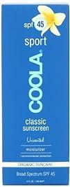 Coola Classic Sport SPF 45 Sunscreen Unscented 5 Ounce