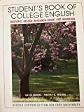 Student's Book of College English (Custom Edition for Troy University) (1256459208) by David Skwire