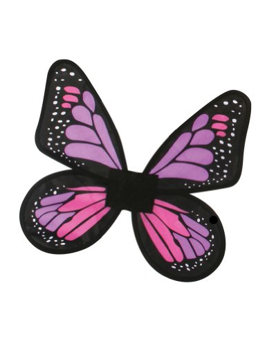 Costume-Accessory Butterfly Wings Satin Adult Costume Pink Halloween Costume Item
