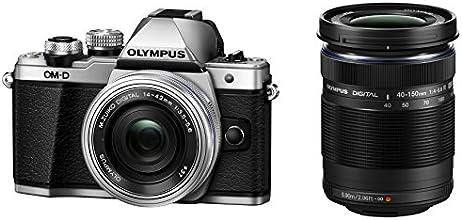 Olympus OM-D E-M10 MARK II  14-42 / 3.5-5.6 M.zuiko Digital ED EZ  40-150 / 4.0-5.6 M.zuiko Digital ED R Appareils Photo Numériques 17.2 Mpix