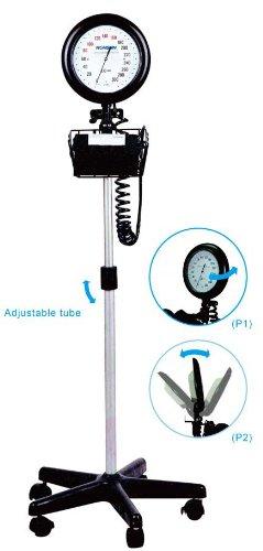 EastShore Round Dial floor standing mobile Sphygmomanometer , blood pressure monitor, FDA approved (Round Dial) (Dial Monitor Stand compare prices)
