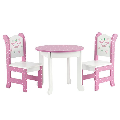 Emily Rose Doll House Wish Crown Table Chair Fits American Girl Dolls Futniture Ebay