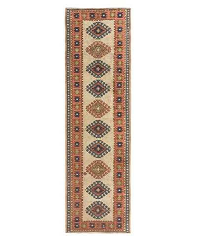 Hand-Knotted Ushak Rug, Copper/Cream, 2′ 10″ x 9′ 8″ Runner