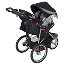 Baby / Child Baby Trend Expedition LX Travel System With Quick Release All-Terrain Bicycle Tires - Millennium Infant
