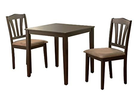 Metropolitan 3 Piece Dining Set Finish: Espresso