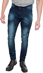 E Fashion Up Men's Skinny Fit Denim Jeans J4_Navy Blue_28