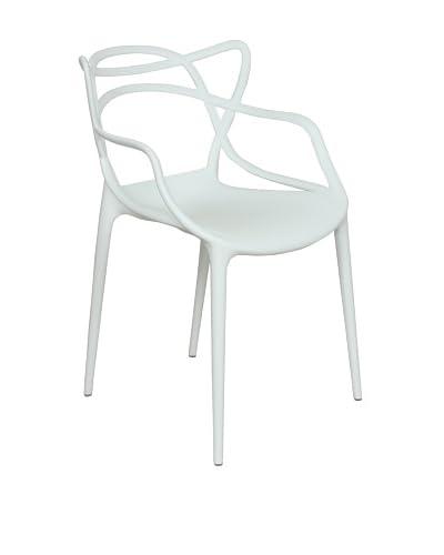Control Brand Sebastian Arm Chair, White