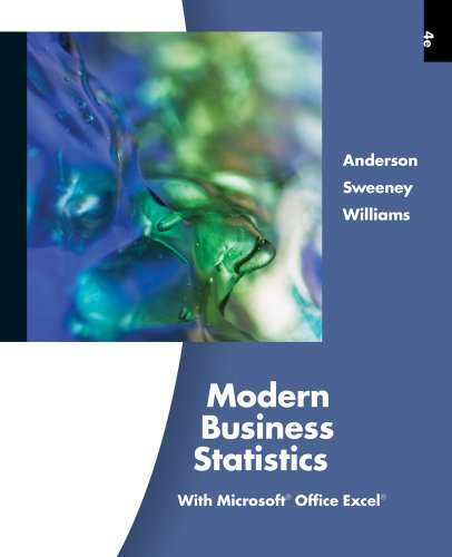 Bundle: Modern Business Statistics with Microsoft Excel (with Printed Access Card), 4th + CengageNOW Printed Access Card
