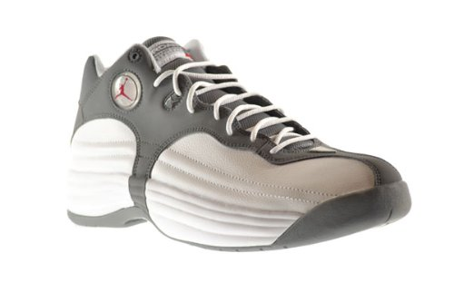 competitive price 9afae 2a93d Jordan Jumpman Team 1 Men s Shoes White Gym Red-Cool Grey 644938-105 (8.5  D(M) US). Basketball