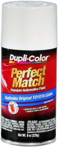 Dupli-Color BTY1556 Super White II Toyota Exact-Match Automotive Paint - 8 oz. Aerosol (Toyota Camry Paint compare prices)