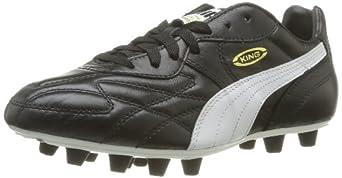 Puma King Top di FG Soccer Cleats - Black/White - UK Size 9.5