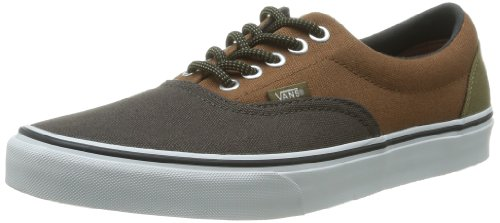 VANS Era Black Olive/Monk's Robe Shoes Scarpe in tela marrone VTN98YM 38 eur 6 us