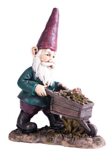 Gnomes for Homes Mini Wheelbarrow Gnome