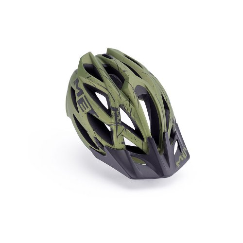 Buy Low Price MET MTB Helmet Kaos matt green (B009GII5PY)