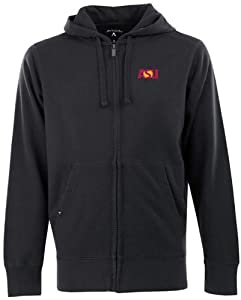 Arizona State Signature Full Zip Hooded Sweatshirt (Team Color) by Antigua