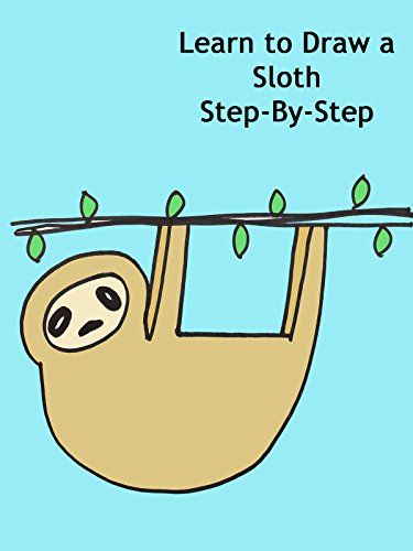 Learn to Draw a Sloth Step-By-Step