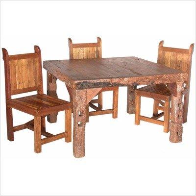 Groovy Stuff Teak Wood Card Table - Ranch House - Tf-445