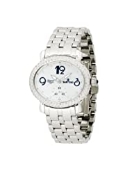 Sartego Women's SDMP062S Diamond Collection Swiss Quartz Movement Watch