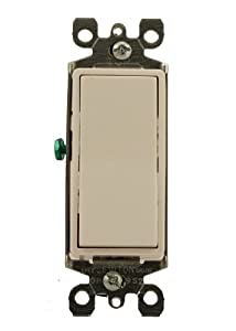 leviton 5611 2w light switch decora illuminated rocker. Black Bedroom Furniture Sets. Home Design Ideas