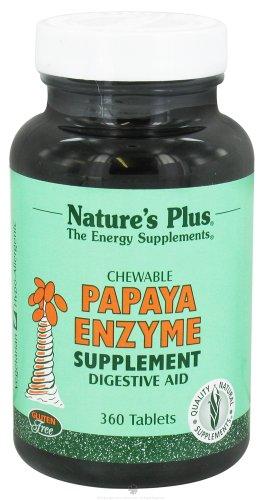 Nature'S Plus - Papaya Enzyme - 360 Chewable Tablets