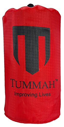 "Tummah Emergency Survival Mylar Thermal Sleeping Bag / Blanket - BONUS - Receive A ""Must Read"" THE BASIC SURVIVAL GUIDE eBook with Your Order! A $14 Value Absolutely FREE"