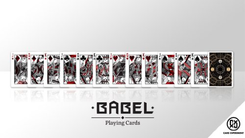 1 X Babel Playing Cards Deck by Card Experiment MFG United States Playing Cards Company