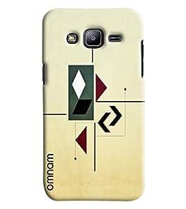 Omnam Arrow Pattern Printed Designer Back Cover Case For Samsung Galaxy J2