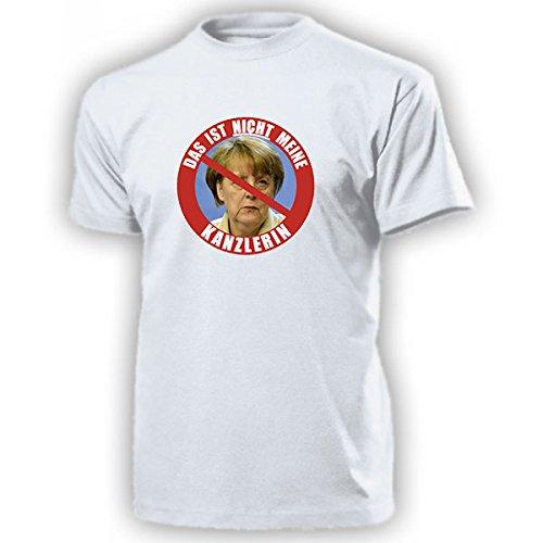 Das-ist-NICHT-meine-Kanzlerin-Anti-Angela-Merkel-BRD-Krise-Chefin-Mutti-Deutschland-Demo-Protest-Politik-NEIN-Danke-T-Shirt-16271