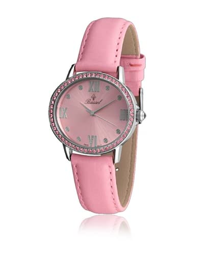Bassel Reloj con movimiento cuarzo suizo CR3006P Rosa 32  mm