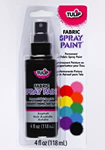 tulip fabric spray paint asphalt. Black Bedroom Furniture Sets. Home Design Ideas