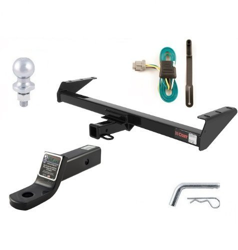 Curt 13241-55441-45030-40002-21500 Trailer Hitch and Tow Package by Curt Manufacturing (Curt Trailer Hitch 13241 compare prices)