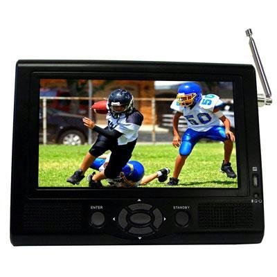 """Supersonic 7"""" Portable Lcd Tv With Atsc Digital Tuner"""